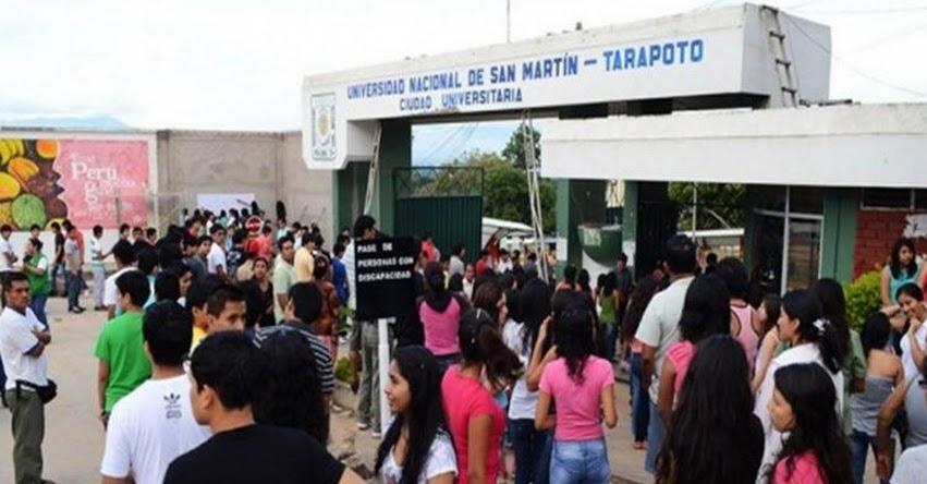 UNSM: Detienen a siete postulantes de Universidad Nacional de San Martín - Tarapoto - www.unsm.edu.pe