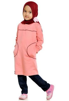 Baju Lebaran Untuk Anak Perempuan Terpopuler Di Pasaran