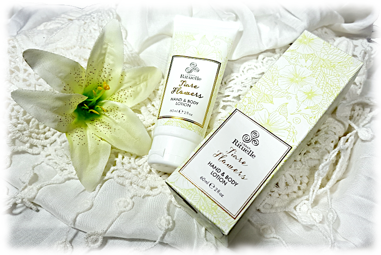 Tiare Flowers Hand & Body Lotion with flower