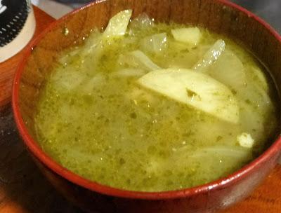 バジルのスープ