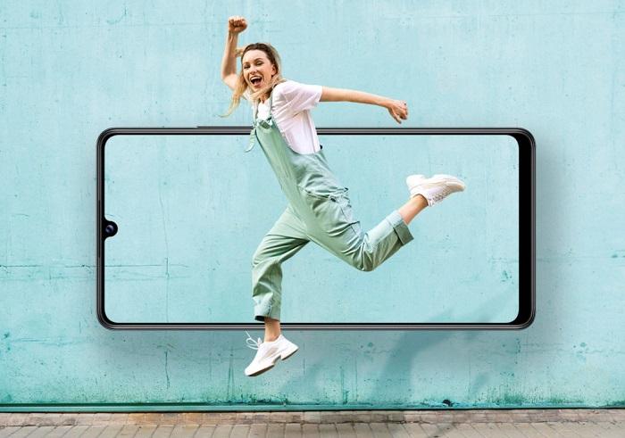 Samsung Galaxy A42 5G Screen Display Size