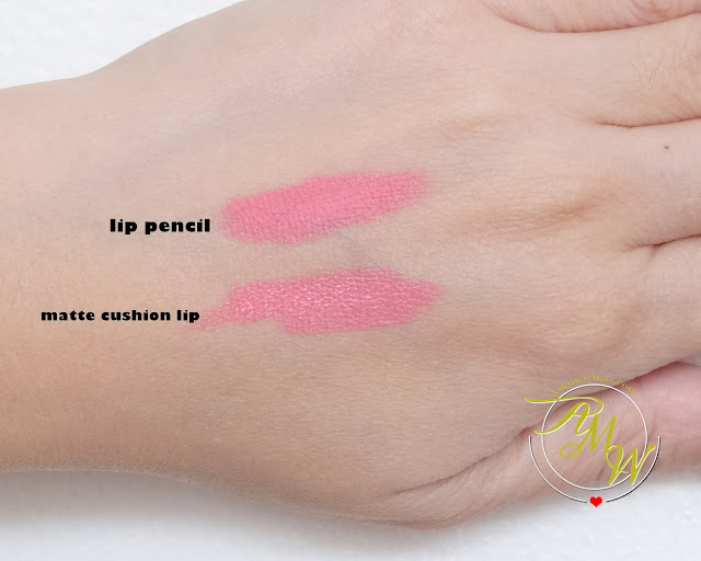 a photo of Baby Bright Plankton Matte Cushion Lip and Moist Tint Review