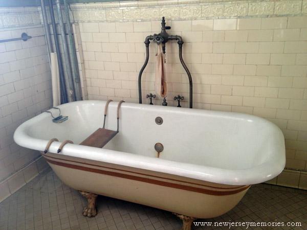 Bathroom at Evergreens, Montclair, New Jersey