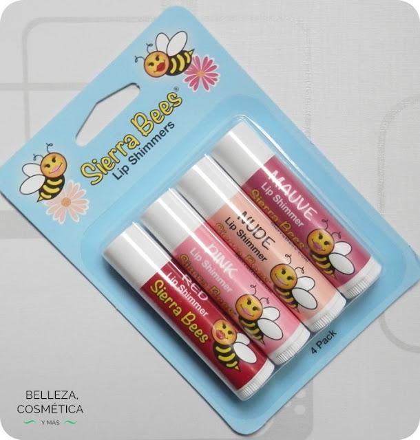 Sierra bees lip shimmers