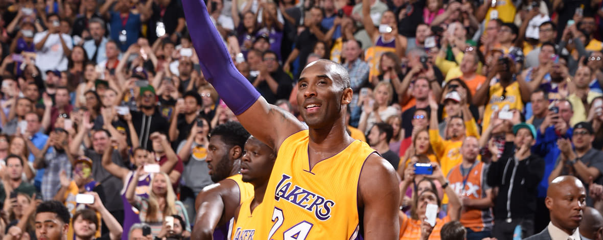 Kobe Bryant last NBA game - Goodbye