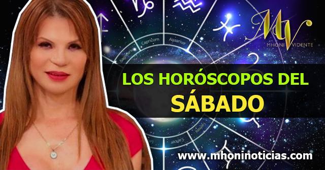 Los Horóscopos del SÁBADO 03 de OCTUBRE del 2020 - Mhoni Vidente