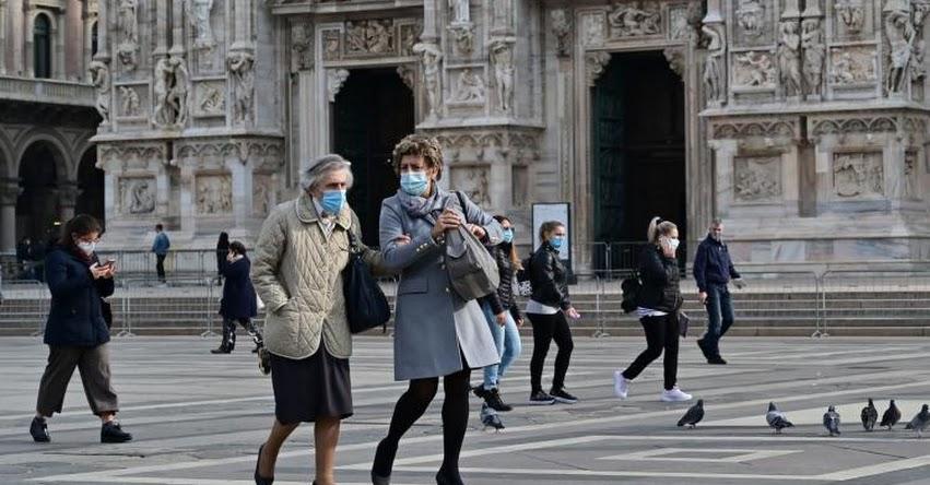 ITALIA: Médicos piden cierre total del país ante la situación de hospitales