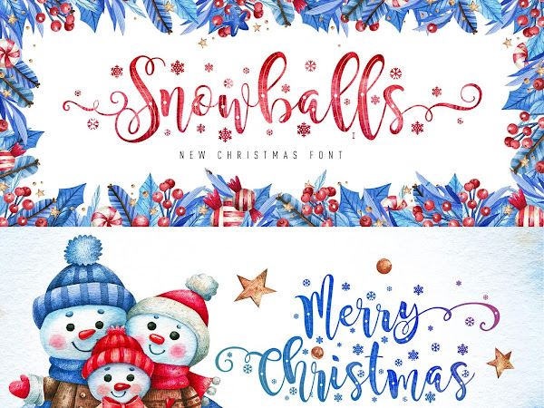Snowballs New Christmas Font