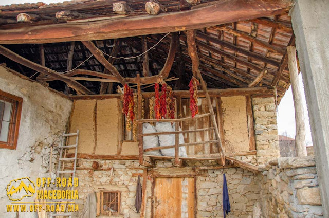 Traditional village house in Chanishte village, #Mariovo, #Macedonia