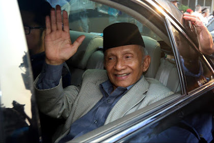 Sebut Rezim Jokowi Terjangkit Nihilisme, Netizen: Amien Rais Idap Julidisme