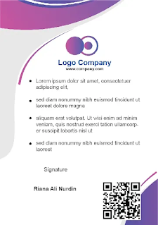 Download Template Format ID Card Karyawan Microsoft Word