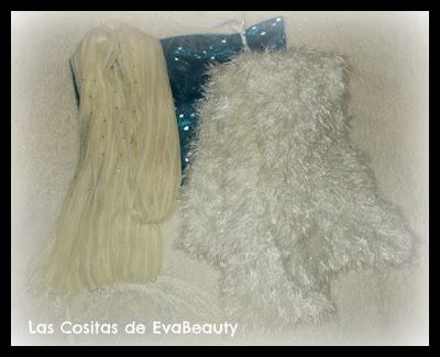 pañuelo fino y bufanda blanca pelitos