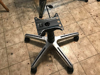 Desk Chair based - from broken desk chair