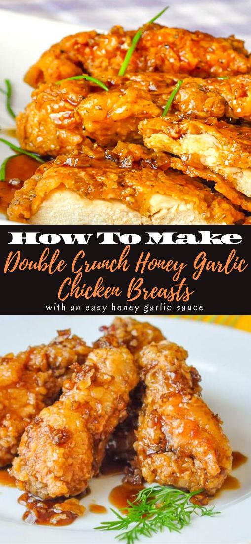 Double Crunch Honey Garlic Chicken Breasts #dinnerrecipe #food #amazingrecipe #easyrecipe