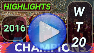 ICC World Twenty 20 2016 Match Highlights Online