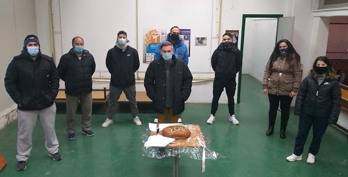 Με όλα τα… υγειονομικά πρωτόκολλα η πίτα του ΠΚ Νεάπολης