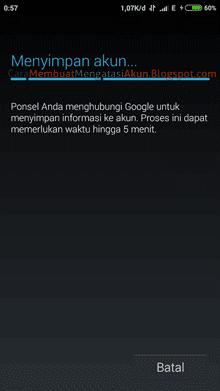 menambah akun google baru