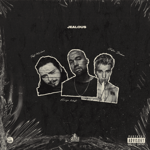 LYRICS: Kanye West – Jealous Ft Post Malone & Justin Bieber