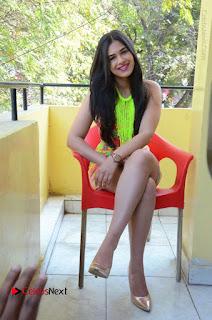 Telugu Actress Prasanna Stills in Short Dress at Inkenti Nuvve Cheppu Press Meet Stills  0177.JPG