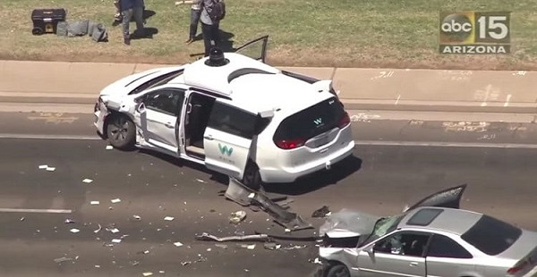The Waymo car accident