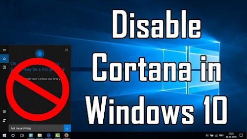 Cara Menghilangkan / Menampilkan Search Bar Cortana di Windows 10