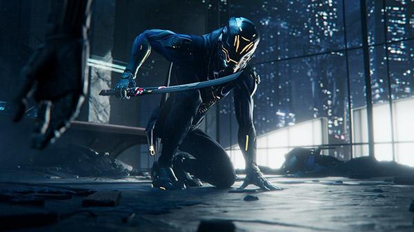Ghostrunner video game demo