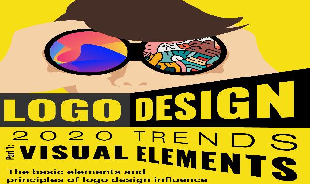Logo Design 2020 Trends Visual Elements #infographic