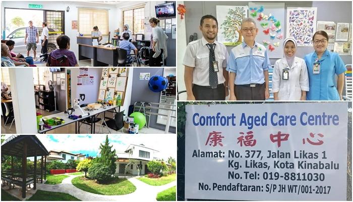 Kerja Sosial Gerontologi Lawatan Ke Comfort Aged Centre, Likas