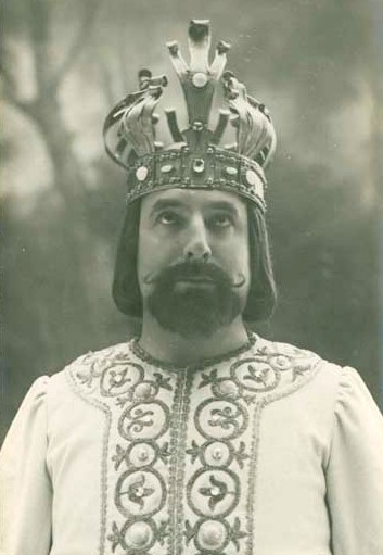 Henri Albers in the title role of Chausson's Le Roi Arthus in 1903
