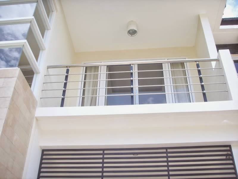 Gambar Contoh Model Balkon Rumah Minimalis Modern Rumah