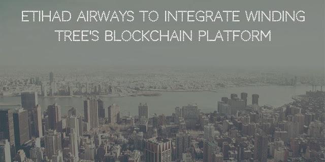 Etihad Airways to integrate Winding Tree's blockchain platform