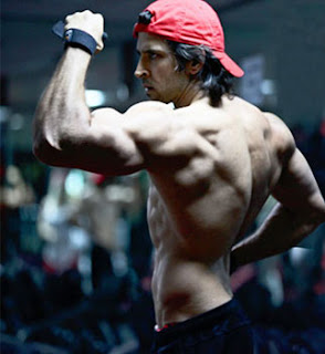 Krrish 3 Hrithik Roshan Amazing Body Building Photos,Pics,Phtos and wallpapers
