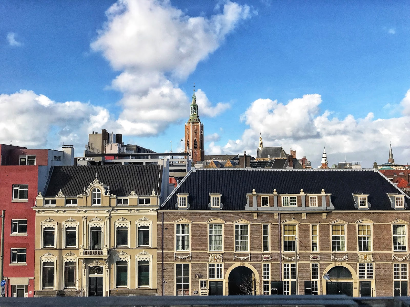 Bleyenberg Rooftop view of Grote Kerk Den Haag