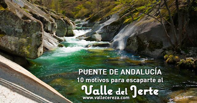 Puente de Andalucía: 10 motivos para escaparte al Valle del Jerte