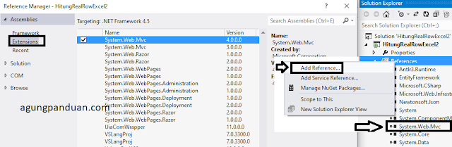 Add References Visual Studio