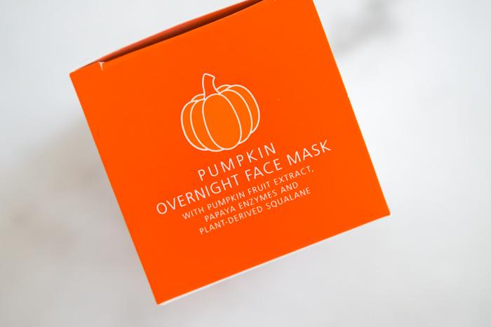 Trader Joe's Pumpkin Overnight Face Mask Review