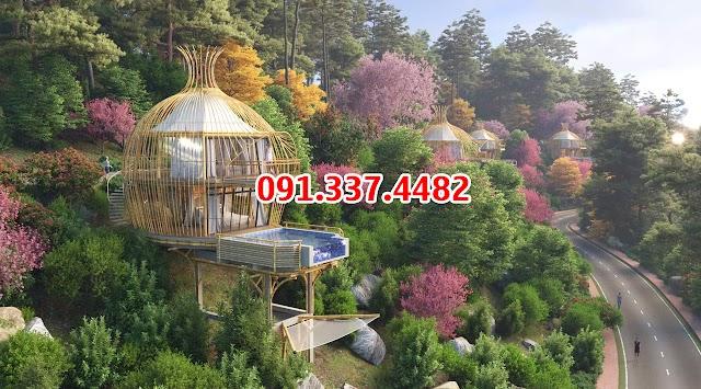 Dự án Sakana Resort Hòa Bình Hồ Dụ Kỳ Sơn, Spa & Resort Hòa Bình biệt thự nghỉ dưỡng cao cấp ven đô