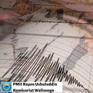 "Selain dikenal dengan ahli filsafat dan kedoteran, Ibnu Sina juga memiliki pandangan yang cukup lugas tentang fenomena gempa bumi. Meskipun kajian gempa telah diteliti lebih dulu oleh ilmuwan muslim lainnya seperti Al-kindi, yang tercantum dalam karyanya yang berjudul ""The Science of Winds in the Bowels of the Earth, which Produce Many Earthquakes and Cave-in"".  Meski kajian tentang fenomena gempa sudah banyak di bahas, kebanyakan para tokoh tersebut hanya terpaku kepada dalil agama saja dan menganggapnya sebagai mutlak kehendak dari Tuhan. Sekitar Abad Ke-10 dan 11 para ilmuwan Muslim menggunakan pendekatan merodologi dari ilmu filsafat logika dan fenomena fisik yang terjadi untuk menjelaskan gempa bumi.  Ibnu Sina dalam gagasannya tetang gempa banyak diadopsi dari para ahli ilmuwan Yunani yang banyak mengungkapkan bagaimana terjadinya suatu proses guncangan gempa yang disebabkan adanya tekanan gas yang bergerak naik mengguncang permukaan tanah dan berusaha keluar dari bumi. Namun, Ibnu sina tidak mutlak membenarkan teori tersebut ia mengungkapkan pemikirannnya dan membuat teori baru di dalan tulisannya.  Menurutnya gempa terjadi karena adanya rongga besar di dalam tanah yang bergerak memberi tekanan dan menghancurkan bagian dari dalam bumi. Air yang masuk ke dalam rongga-rongga bumi memberi ruang dan mengikis bagian tanah kemudian mengakibatkan bagian lapisan atau lempengan tanah, jatuh ke dalam rongga yang penuh air dan membuat goncangan ke permukaan bumi.  Oleh karenanya Ibnu Sina menganjurkan kepada orang-orang untuk menggali tanah dan menjadikannya sumur, agar setiap air yang ditimbah bisa mengurangi getaran akibat pengikisan lempengan bumi. Dengan teorinya ini, ia dapat membuktikan bahwa gempa bumi bukan sekedar kehendak Tuhan saja, tetapi membuat manusia untuk berpikir dan mawas diri.  Hingga saat ini fenomena gempa bumi terus dalam proses penelitian tentang bagaimana cara menanggulanginya, salah satunya juga dengan cara yang diusulkan oleh Ibnu Sina, tanpa "