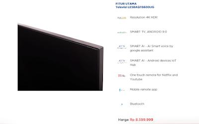 Android Smart TV AQUA Japan Terbaru