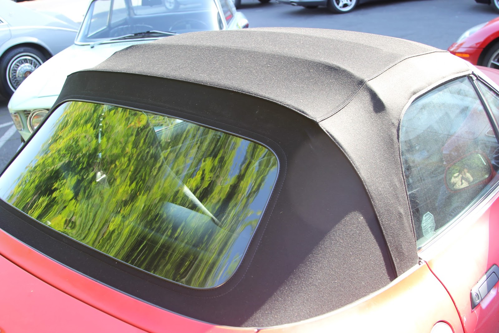 This Project We Have Replaced The Convertible Top And Rear Window On Bmw Z3