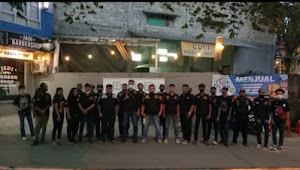 Bulan Ramadhan Ketua Ormas Gibas Resort Kota Bogor Turun Ke Jalan Bagikan Masker dan Takjil
