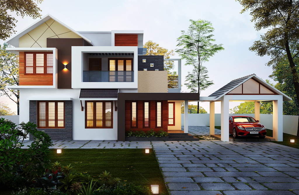 30 lakhs Budget 1800 sq ft 3 bed room residence
