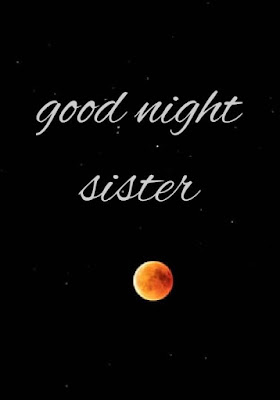 good night images with sister