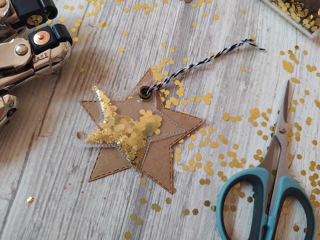 Embellissement Shaker Etoile Fuse Tool We R Memory Keepers
