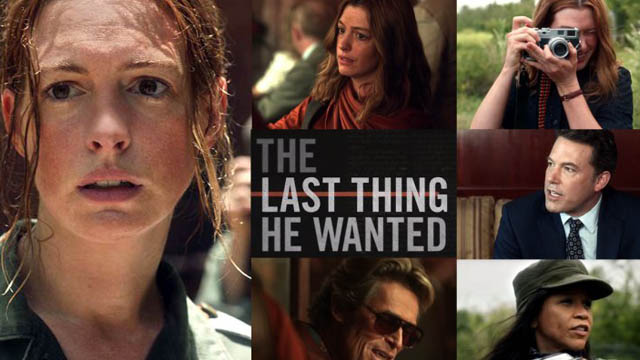 The Last Thing He Wanted (2020) English Movie 720p BluRay Download