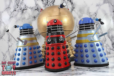 Custom TV21 Red Dalek Leader 23
