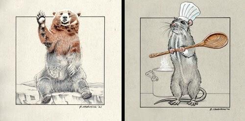 00-Animal-Drawings-Ron-Churchill-www-designstack-co