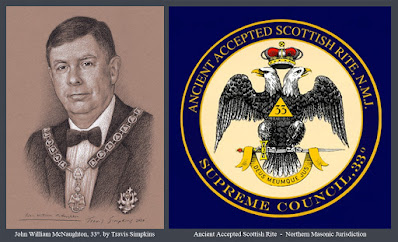John William McNaughton, 33°. Past Sovereign Grand Commander. Scottish Rite, NMJ. by Travis Simpkins