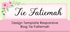 Design Template Responsive Blog Tie Fatiemah