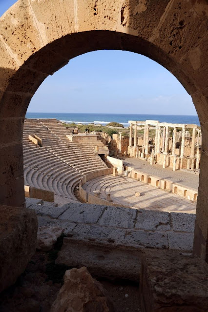 The unlikely saviours of Libya's Roman remains